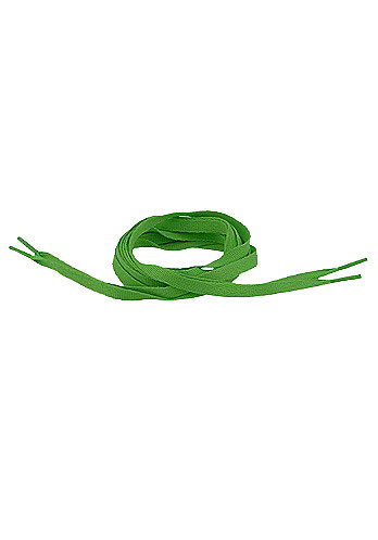 Tube Laces 120cm kelly green