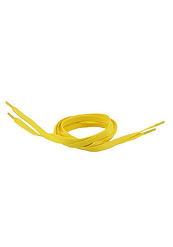 Tube Laces 120cm lemon