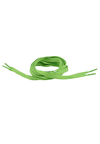 Tube Laces 120cm lime