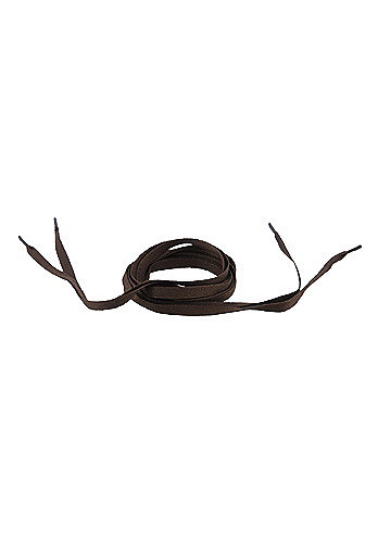 Tube Laces 120cm brown