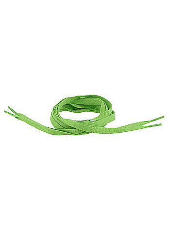 Tube Laces 140cm lime