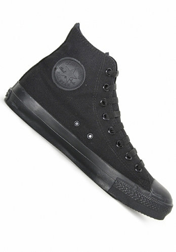 Chuck Taylor All Star Hi black monochrome