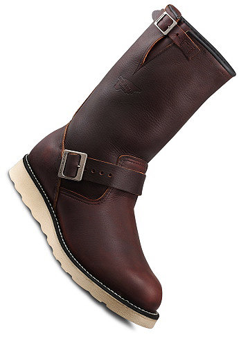 Engineer Boot briar oil slick brown