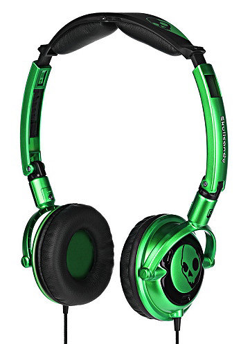 Lowrider Headphones  sc green/black