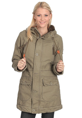 Womens Fiss Jacket olive