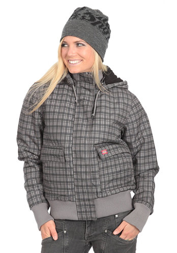 Womens Leanne 6.6 Jacket grey melange/charcoal
