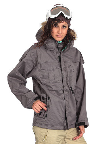 Womens Legacy Jacket black micro check