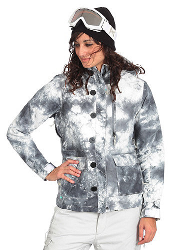 Womens Crash Jacket tie dye