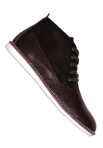 Cyrill II Tumbled Leather suede chocolate white