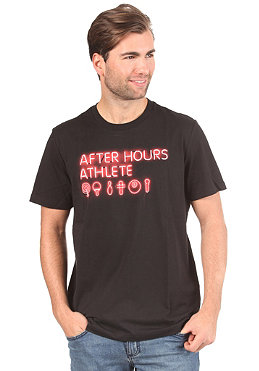 PUMA After Hours S/S T-Shirt black/neon red