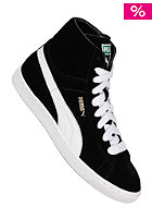 PUMA Suede Mid Classics black/white