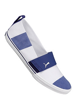 PUMA Womens El Rey Slipon Stripes white/navy blue
