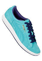 PUMA Womens Supersuede Eco ceramic green/navy blue