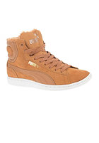 PUMA Womens Vikky Winter cashew-white