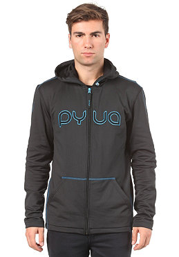 PYUA Hetzenhof Hooded Zip Sweat black