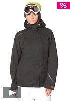 PYUA Womens Inspired Jacket deepest black