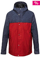 QUIKSILVER Act System 20K Snow Jacket navy blazer