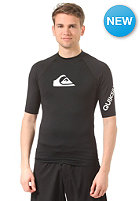 QUIKSILVER All Time S/S Lycra jet black - solid