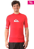 QUIKSILVER All Time S/S Raglan Mid Neck Flat Lock Lycra uni