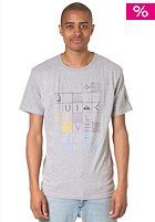 QUIKSILVER Baseline C6 S/S T-Shirt light grey heat