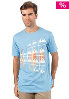 QUIKSILVER Basic Inside Out S/S T-Shirt water blue