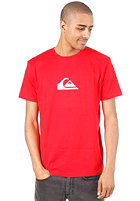 QUIKSILVER Basic Logo S/S T-Shirt quik red