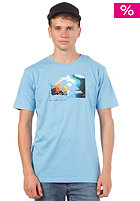 QUIKSILVER Basic Shadow S/S T-Shirt water blue