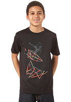 QUIKSILVER Basic Youth S/S T-Shirt black