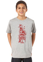 QUIKSILVER Basic Youth S/S T-Shirt light grey heat