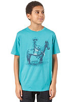 QUIKSILVER Basic Youth S/S T-Shirt turquoise