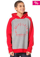 QUIKSILVER Boardriders Hooded Sweat revolution red