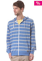 QUIKSILVER Carson Stripe Hooded Zip Sweat brightcolbalt h