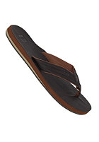 QUIKSILVER Carver Nubuck Sandals dark brown brown dark gum