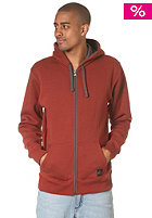 QUIKSILVER Contrast Hooded Jacket bourgogne