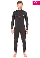 QUIKSILVER Cypher 5/4 L/S Chest Zip Steamer black