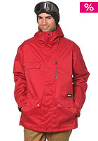 QUIKSILVER Drift Insulated Plain Jacket revolution red