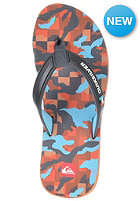 QUIKSILVER Eclipsed Print Sandal org/grey/brown