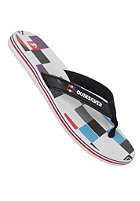 QUIKSILVER Eclipsed Print Sandals white black blue