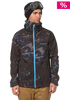 QUIKSILVER Elemental Softshell Jacket stain blue