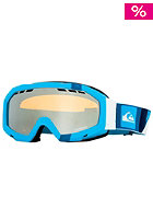 QUIKSILVER Facet Flat Goggle 2013 blue/orange chrome
