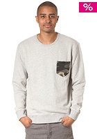 QUIKSILVER Fairmorse Sweat light grey heat