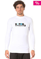 QUIKSILVER Floor Square L/S Top white