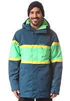 QUIKSILVER Fraction Jacket moroccan blue