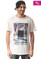 QUIKSILVER Garment Dyed E1 snow white - solid