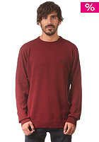 QUIKSILVER Gifford Crew Knit Sweat cabernet