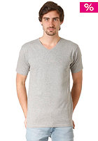 QUIKSILVER Gray S/S T-Shirt light grey heat