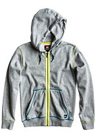 QUIKSILVER Kids Bahine Hooded Zip Sweat lgt grey heather