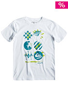 QUIKSILVER Kids Basic R12 S/S T-Shirt white