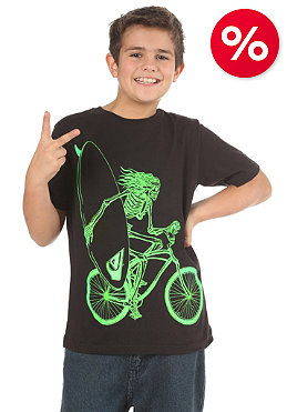QUIKSILVER Kids Bike Bones S/S T-Shirt black