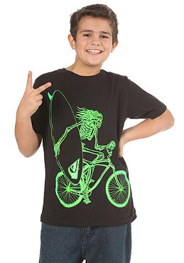 QUIKSILVER KIDS/ Bike Bones S/S T-Shirt black